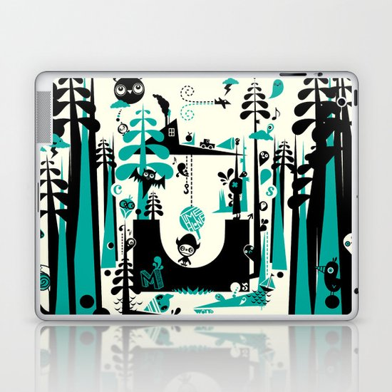 Time Alone Laptop & iPad Skin