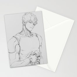 GENOS (One-Punch Man) Stationery Cards