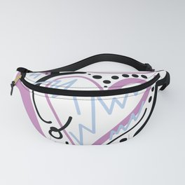 eye love you Fanny Pack
