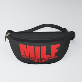 Mens Milf Man I Love Firearms design Funny Gift for Dads Fanny Pack