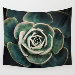 DARKSIDE OF SUCCULENTS IV-Q Wall Tapestry
