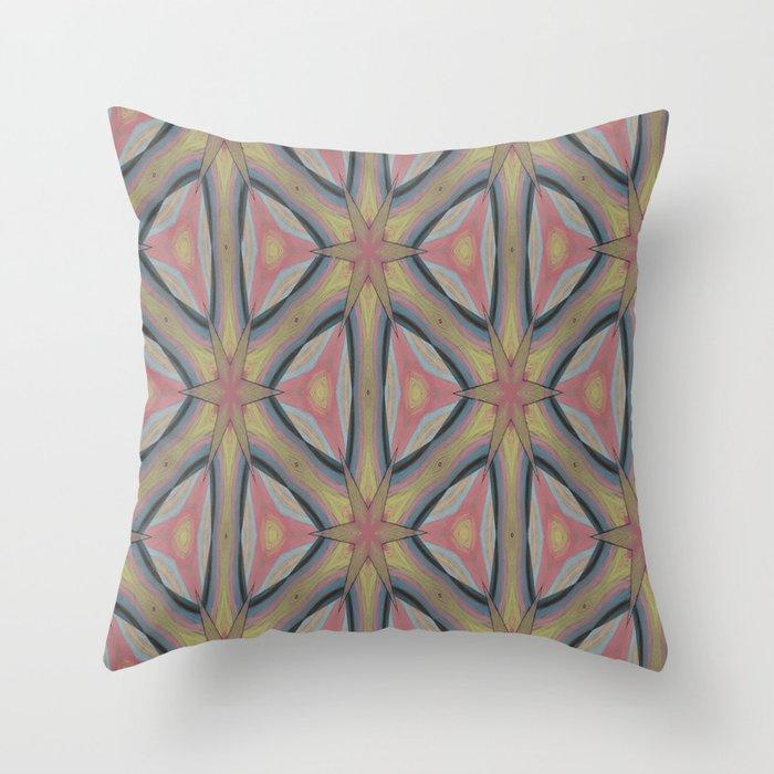 Ann Arbor Pastel Chalk 6235 Throw Pillow