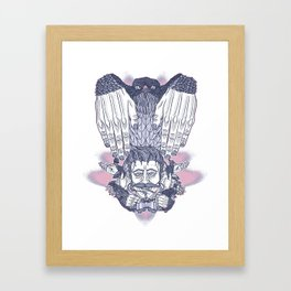 Flap Your Hands Framed Art Print