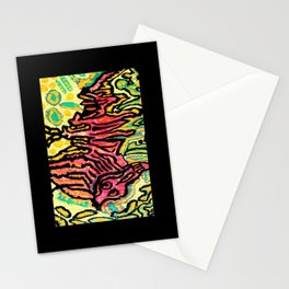 art fear painting Stationery Cards