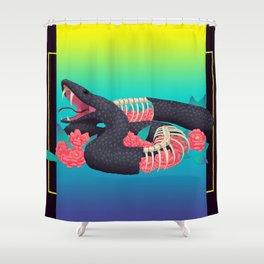 Hyperreal Shower Curtain