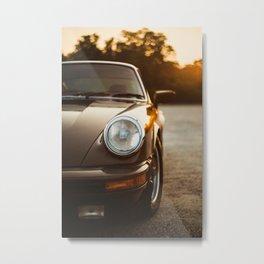 1979 911 at sunset Metal Print