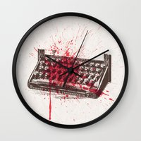 movie poster Wall Clocks featuring Misery - minimal movie poster by Stefanoreves