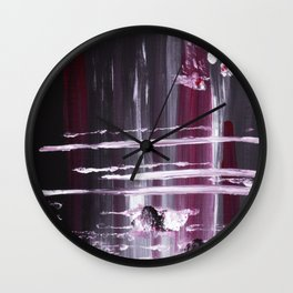 Cherry Merlot Wall Clock