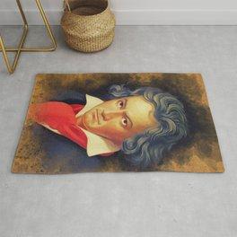 Ludwig van Beethoven, Music Legend Rug