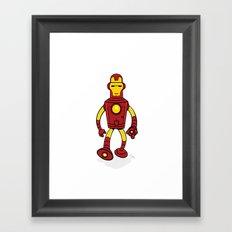Iron Bender Framed Art Print