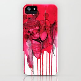 Plague Doctor Shibari iPhone Case