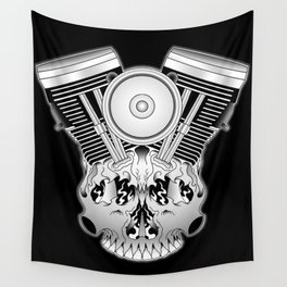 Motor Mind Wall Tapestry