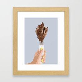 gelato Framed Art Print