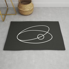 The sand makes the pearl. (Oyster) Rug