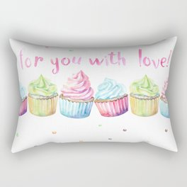 For You with Love Rectangular Pillow
