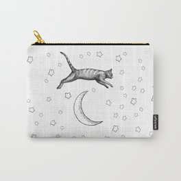 Cat Jumping Over The Moon Carry-All Pouch