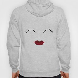 Merlot Lips Hoody