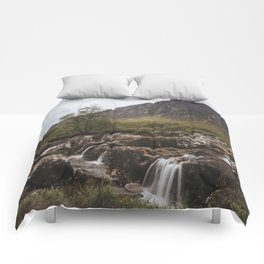 Famous Etive Mor - Landscape and Nature Photography Comforters