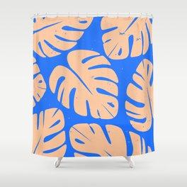 Monstera Leaf Print 5 Shower Curtain