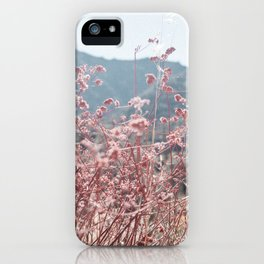 California Pink Flowers iPhone Case