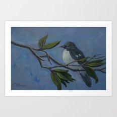 Chubby Mockingbird AC160216p Art Print