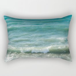 Ocean Waves Rectangular Pillow