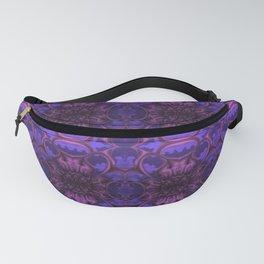 Purple Bloom Pattern Fanny Pack
