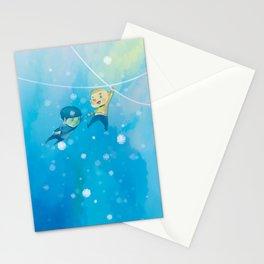 Spirk winter adventure Stationery Cards