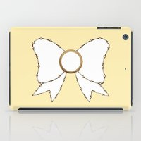 bow iPad Cases featuring Bow by Little Owl Oddities
