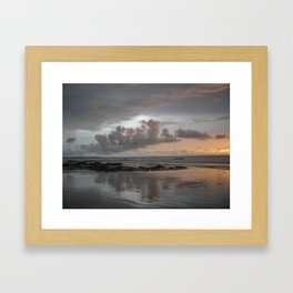Reflection of Clouds Framed Art Print