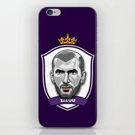 Zidane iPhone Skin