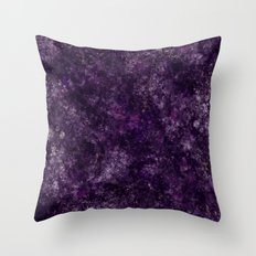 Purple Garden Throw Pillow