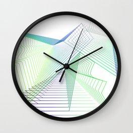 Geometric fantasy Wall Clock