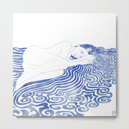 Water Nymph XXVIII Metal Print