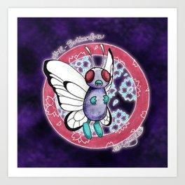 12 - Butterfree Art Print