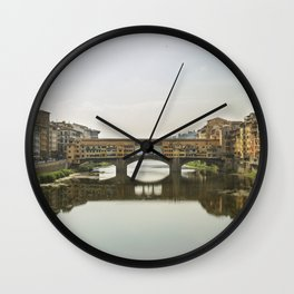 Florence - Ponte Vecchio Wall Clock