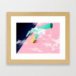 Brazil - A casa caiu Framed Art Print