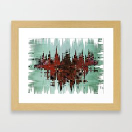 Inachis Io Framed Art Print