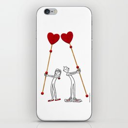 DIDI in love iPhone Skin