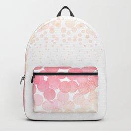Circle Descent Rose Gold Backpack