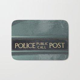 Police box Bath Mat