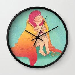 The Joy of Knitting Wall Clock