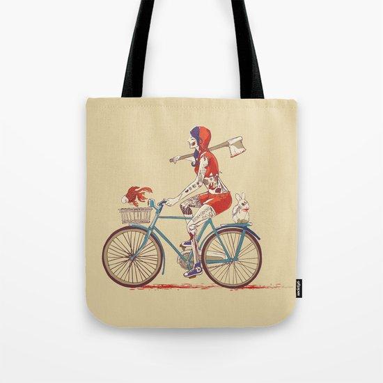 Death Ride Tote Bag