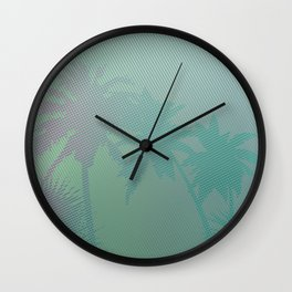 Palm Stories 3 Wall Clock