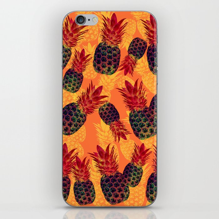 Pineapple Carnival iPhone Skin