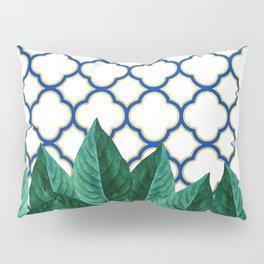 Leaves & Tiles #society6 #decor #buyart Pillow Sham