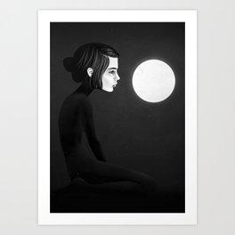 Those Shining Hours Art Print