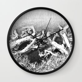 Transitions in nature part 2 Wall Clock