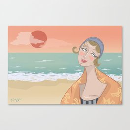 ◯ Summer Sunset ◯ Canvas Print