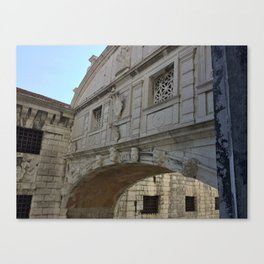 Bridge of Sighs, Doge's Palace, Venice, Italy Canvas Print